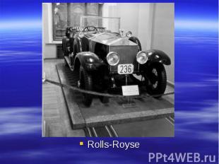 Rolls-Royse Rolls-Royse