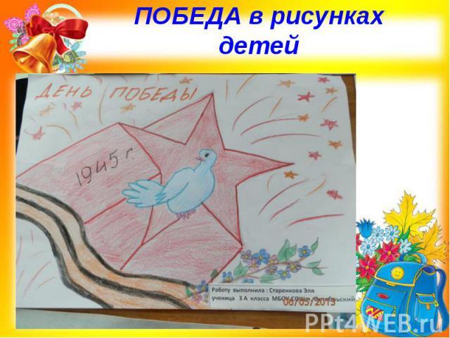 ПОБЕДА в рисунках детей