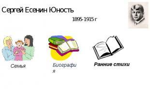 Сергей Есенин Юность
