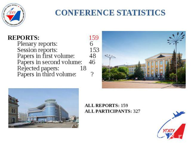 CONFERENCE STATISTICS
