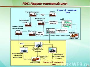 ЯЭК: Ядерно-топливный цикл