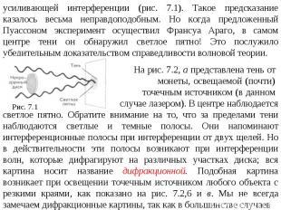 усиливающей интерференции (рис. 7.1). Такое предсказание казалось весьма неправд