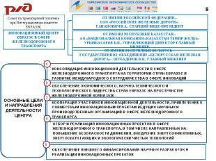 Совет по транспортной политике при Интеграционном комитете ЕВРАЗЭСИННОВАЦИОННЫЙ