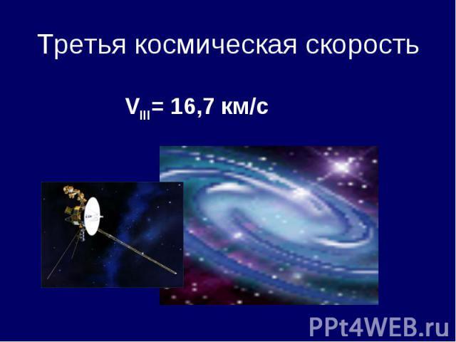 Третья космическая скорость