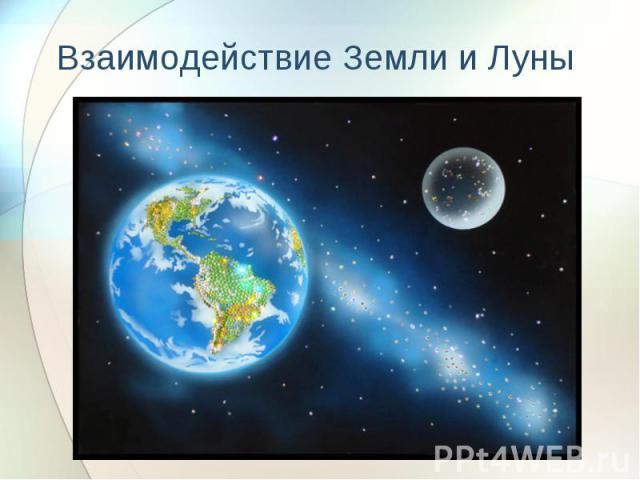 Взаимодействие Земли и Луны