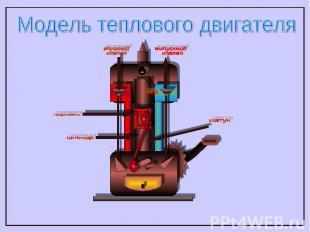 Модель теплового двигателя