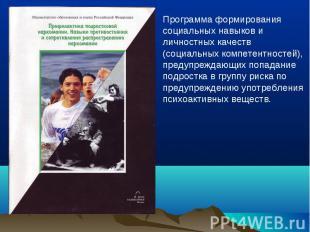 Программа формирования социальных навыков и личностных качеств (социальных компе
