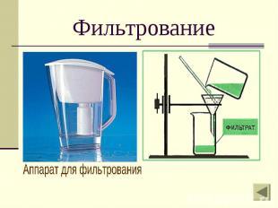 Фильтрование Аппарат для фильтрования
