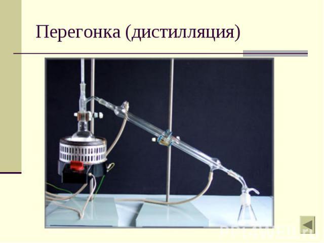 Перегонка (дистилляция)
