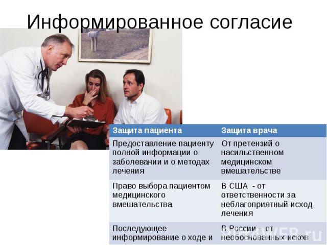 Информированное согласие