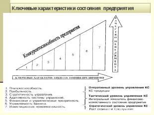 Ключевые характеристики состояния предприятия