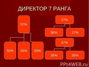ДИРЕКТОР 7 РАНГА