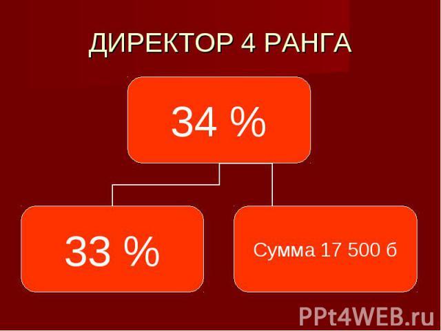 ДИРЕКТОР 4 РАНГА