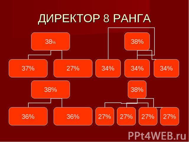 ДИРЕКТОР 8 РАНГА