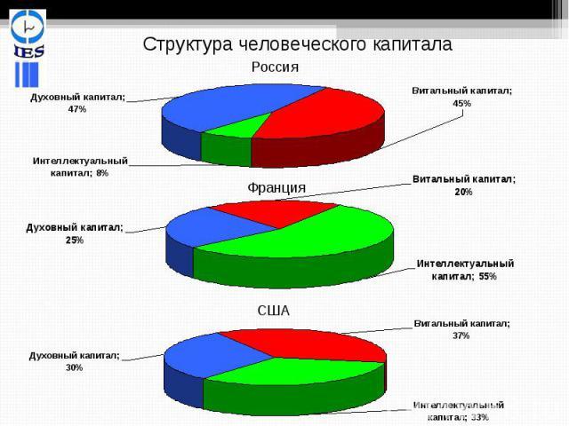 Структура человеческого капитала