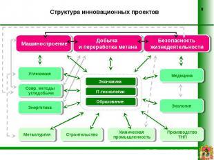 Структура инновационных проектов