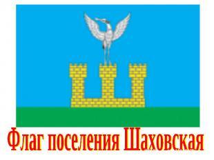 Флаг поселения Шаховская