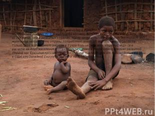 Сотни миллионов здесь голодают; ежегодно в развивающихся странах не получают мед