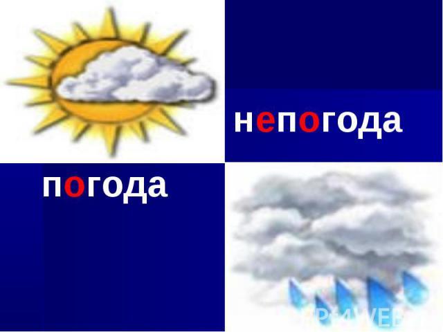 погоданепогода