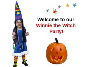 Welcome to our Winnie the Witch Party!