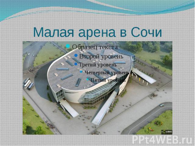 Малая арена в Сочи