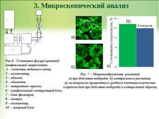 3. Микроскопический анализ Рис.6 –Установка флуоресцентной конфокальной микроско