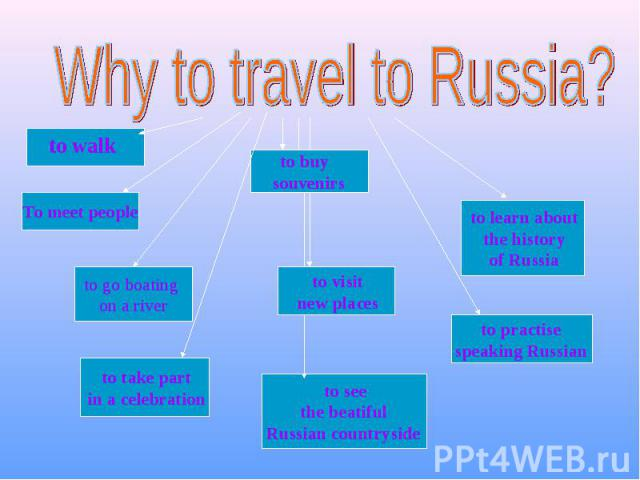 Why to travel to Russia?
