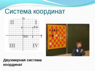 Система координатДвухмерная система координат