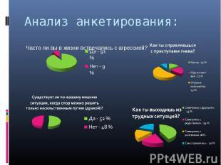 Анализ анкетирования: