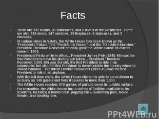 FactsThere are 132 rooms, 35 bathrooms, and 6 levels in the Residence. There are