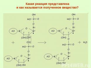 Какая реакция представлена и как называется полученное вещество?