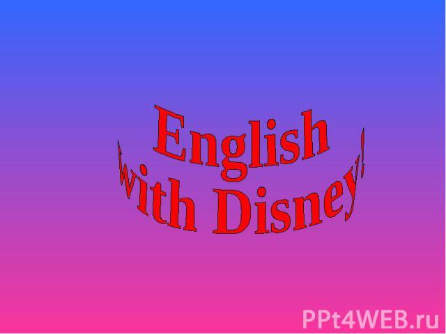 English with Disney!