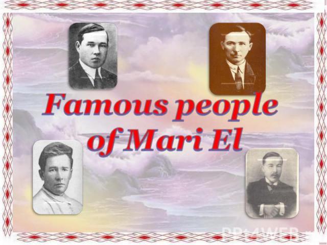 Famous people of Mari El