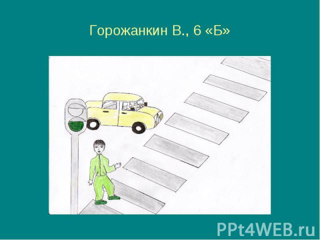Горожанкин В., 6 «Б»