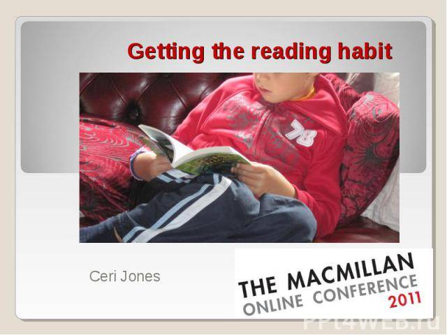 Getting the reading habit
