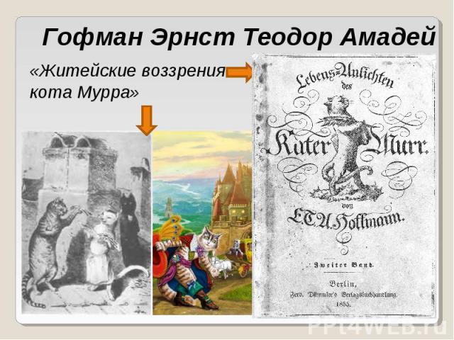 Гофман Эрнст Теодор Амадей «Житейские воззрения кота Мурра»
