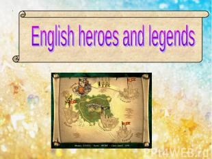 English heroes and legends