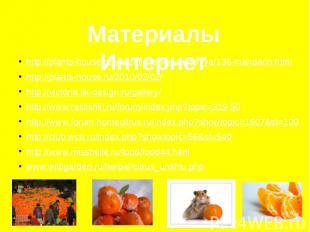 Материалы Интернет http://plants-house.ru/yekzoticheskie-rasteniya/136-mandarin.