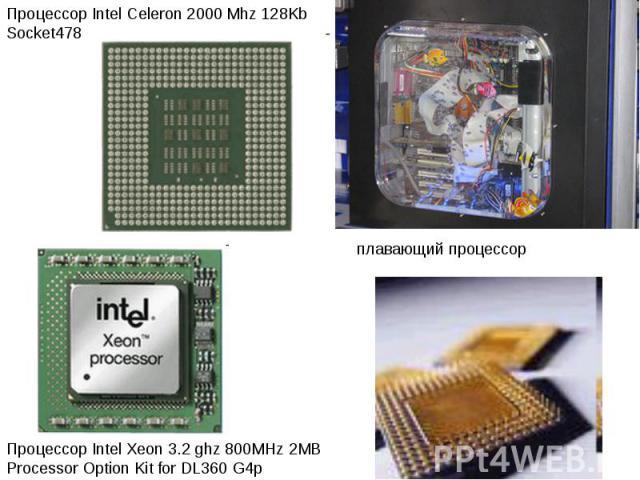 Процессор Intel Celeron 2000 Mhz 128Kb Socket478 Процессор Intel Xeon 3.2 ghz 800MHz 2MB Processor Option Kit for DL360 G4p