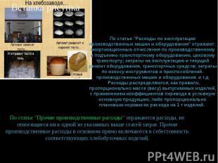 """По статье """"Расходы по эксплуатации производственных машин и оборудования"""" отража"""