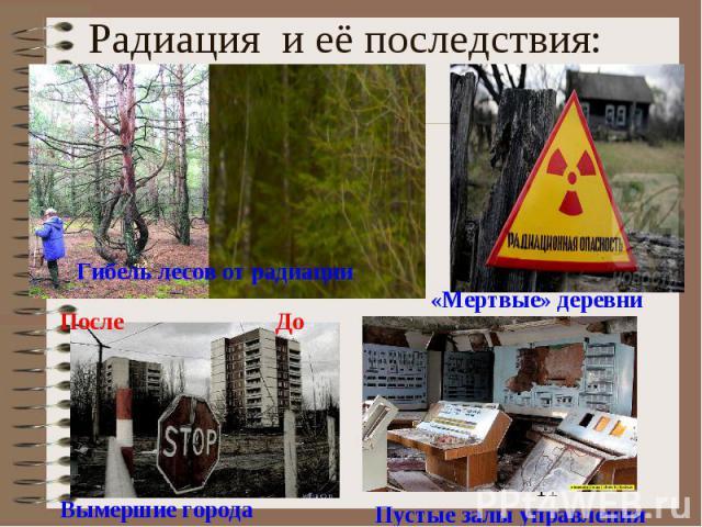 Радиация и её последствия: