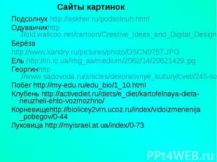 Подсолнух http://askher.ru/podsolnuh.htmlПодсолнух http://askher.ru/podsolnuh.ht