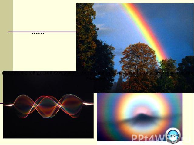 …… Работа с интерактивной доской Создание собственного рисунка, изображающего химические явления Рисунок