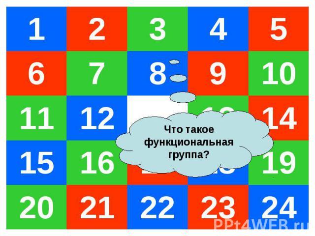 1 2 3 4 5 6 7 8 9 10 11 12 13 14 15 16 17 18 19 20 21 22 23 24 Что такое функциональная группа?