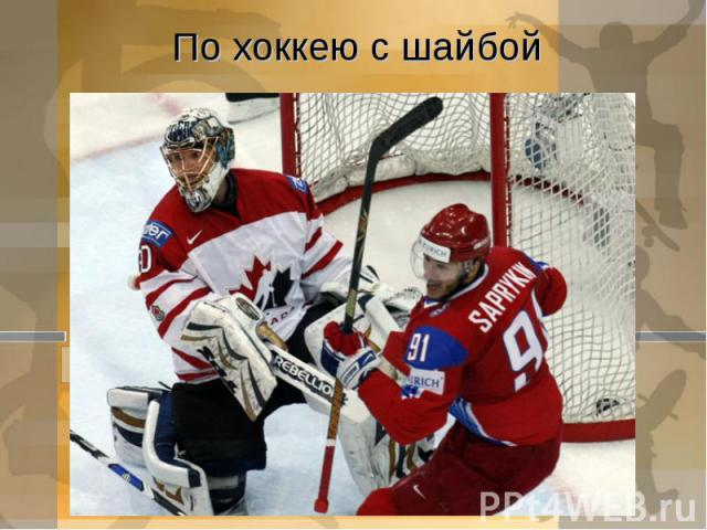 По хоккею с шайбой