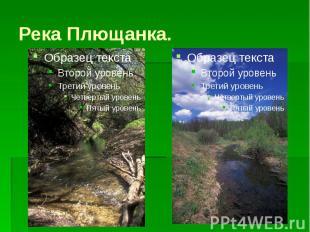 Река Плющанка.