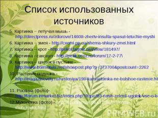 5. Картинка – летучая мышь - http://directpress.ru/zdorove/14608-zhertv-insulta-