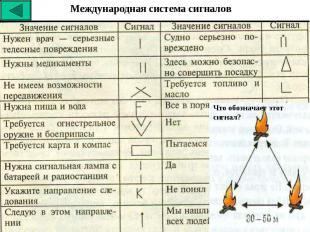 Международная система сигналов