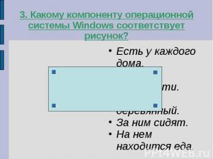3. Какому компоненту операционной системы Windows соответствует рисунок?Есть у к