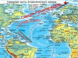 Северная часть Атлантического океанаАнтильское